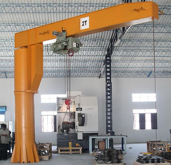 Jib Crane - Samrudhi Fab-Tech  Engineering Pvt  Ltd